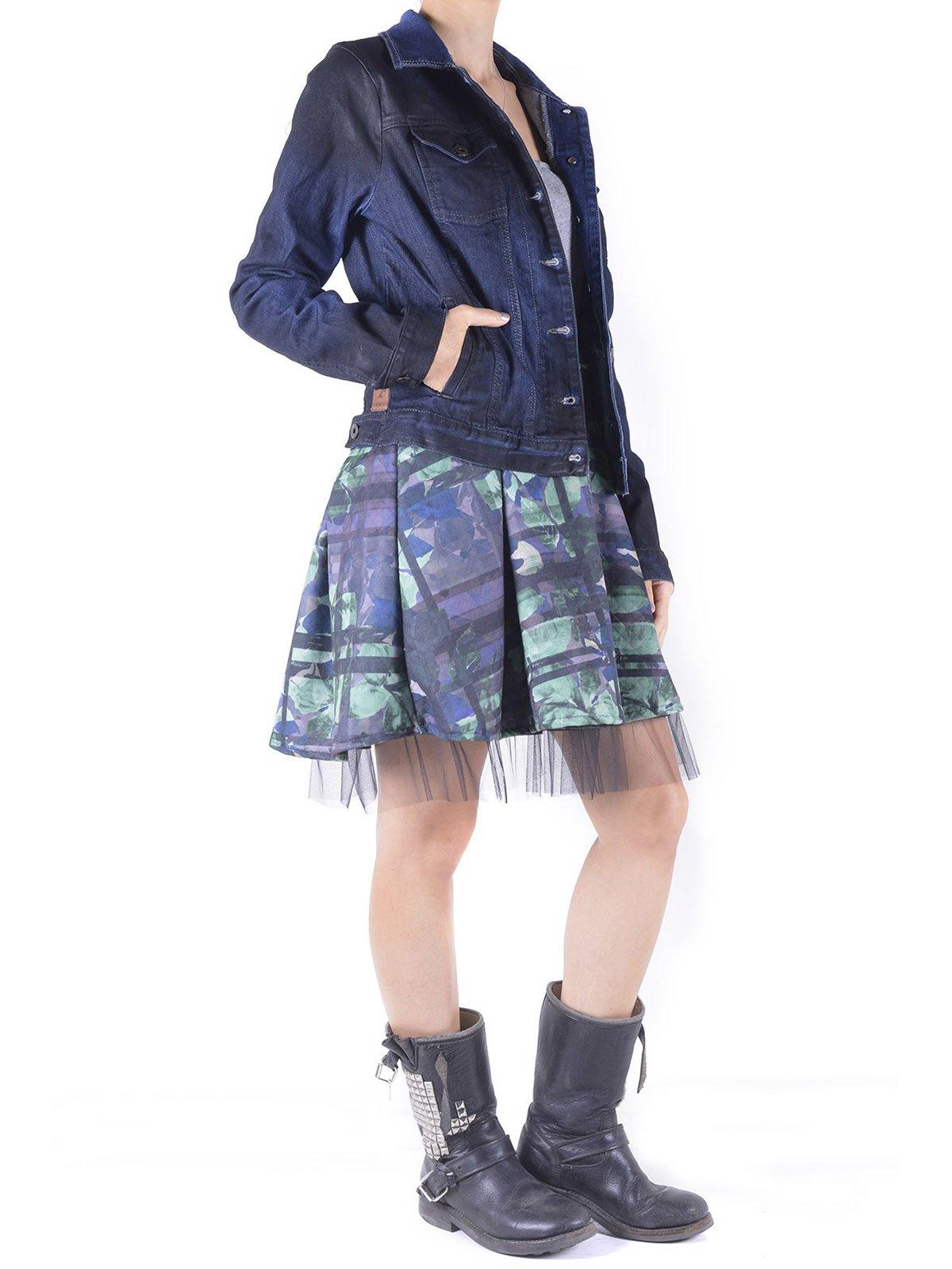 Куртка темно-синяя | 3756630 | фото 4