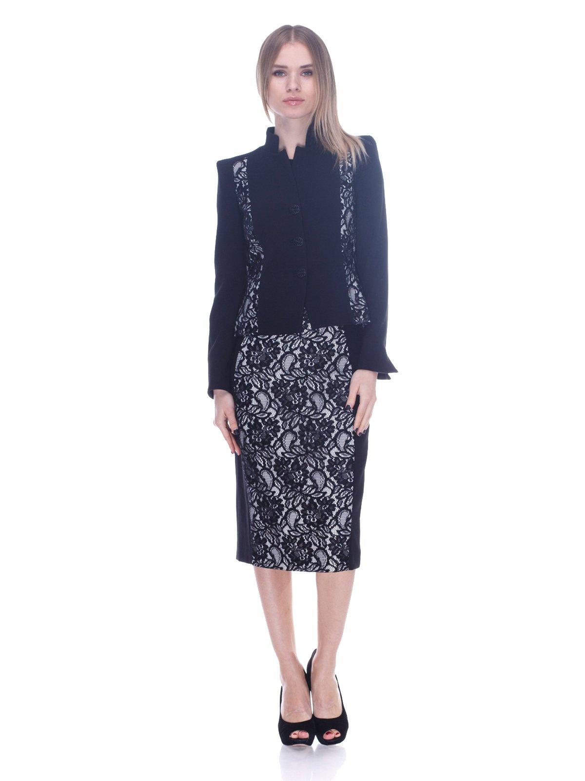 Костюм: жакет и юбка | 3752091