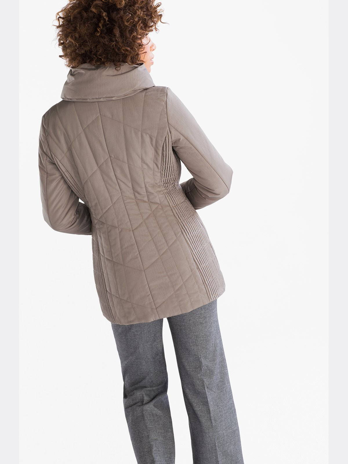 Куртка бежевая | 3758410 | фото 2