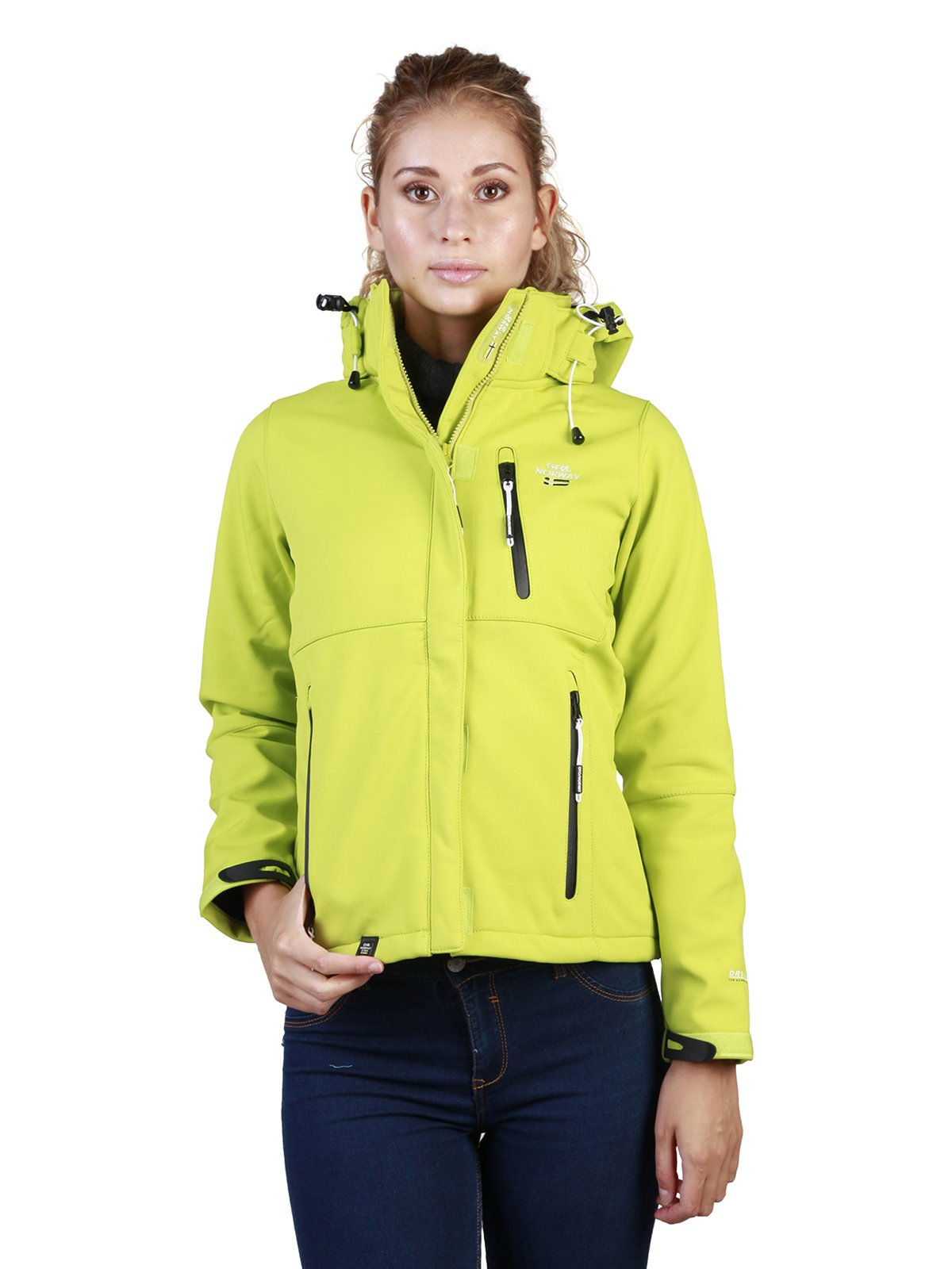 Куртка лимонного цвета | 3748758