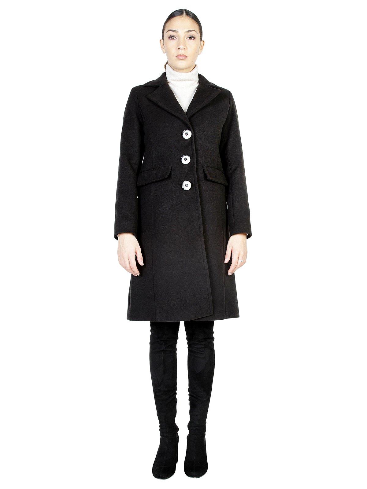 Пальто черное | 3749082 | фото 2
