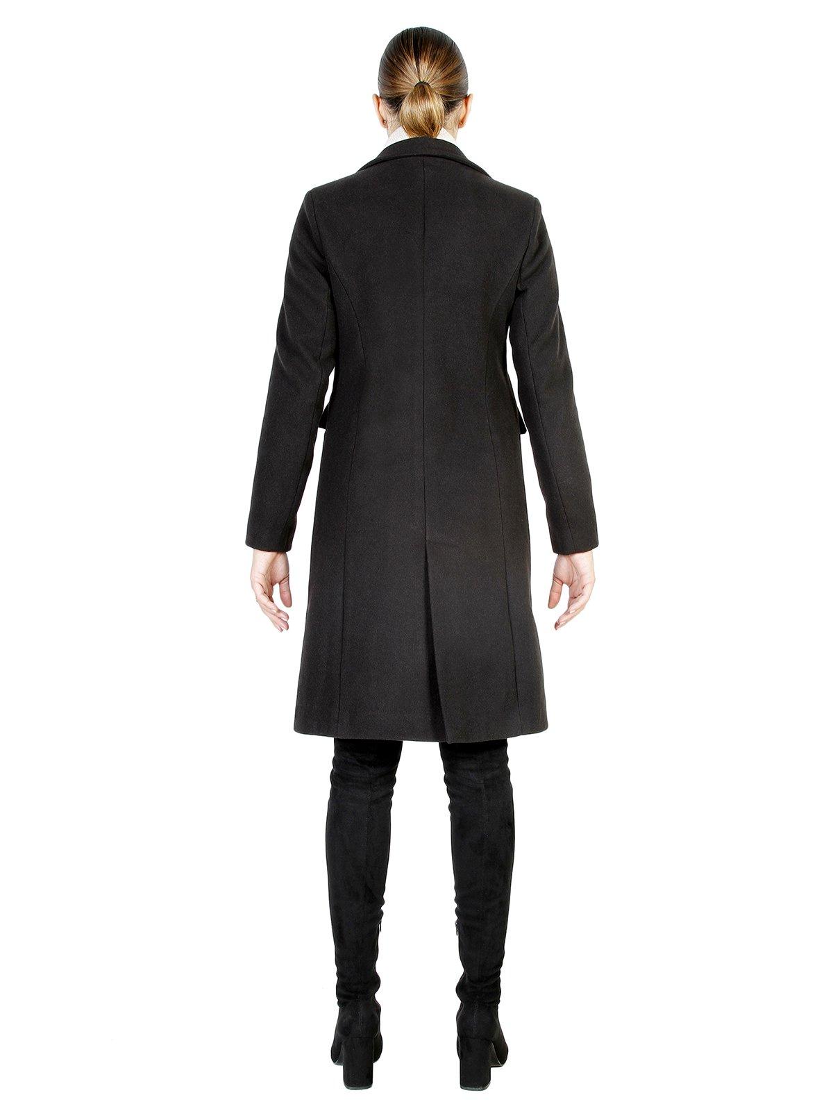 Пальто черное | 3749082 | фото 3