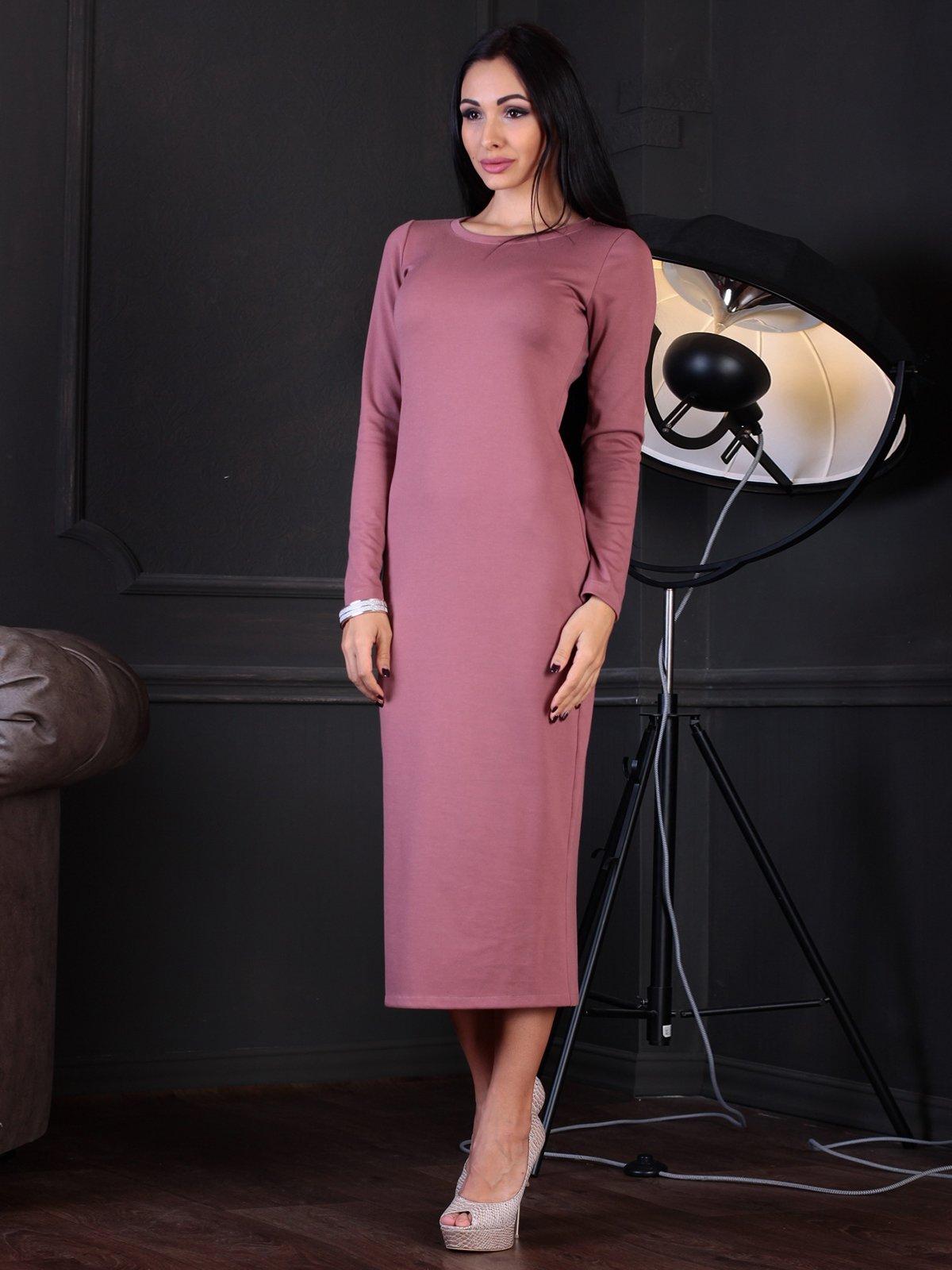 Платье цвета розовой дымки | 3760628