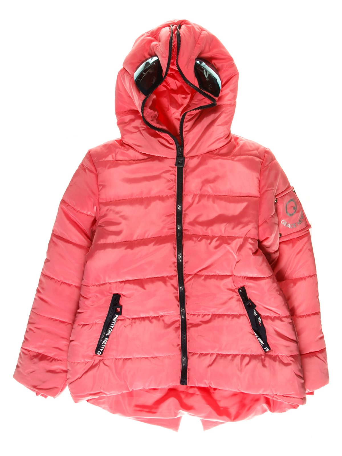 Куртка рожева | 3762901