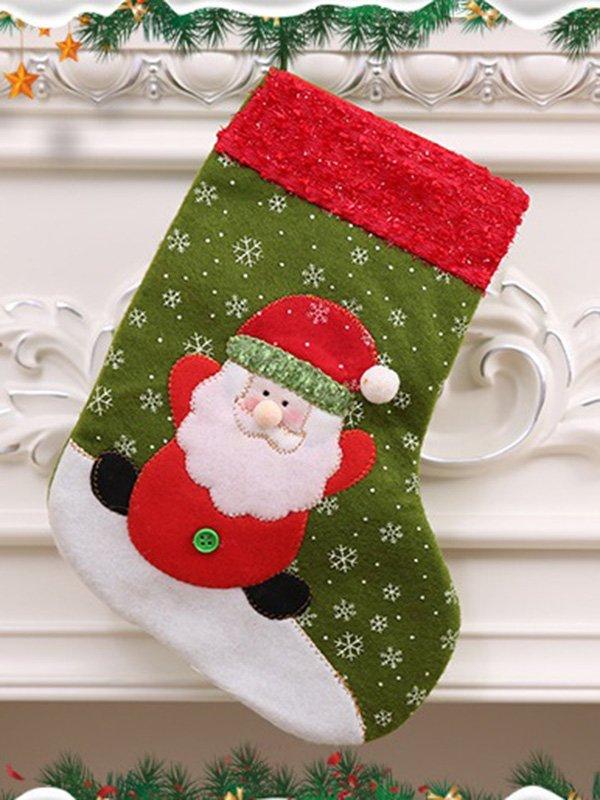 Рождественский носок для подарков «Санта» | 3765725