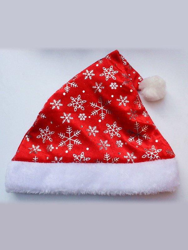 Рождественская шапочка с узором | 3765769