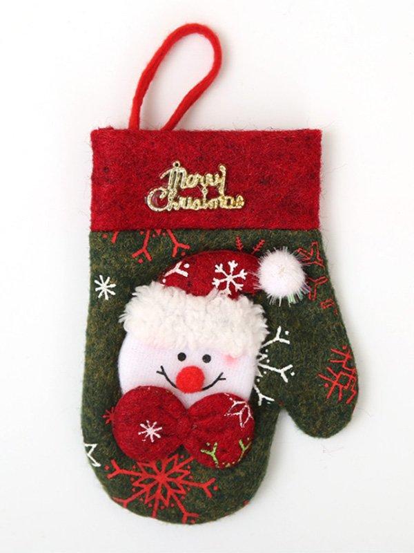Новогодняя рукавичка для столовых приборов | 3765782