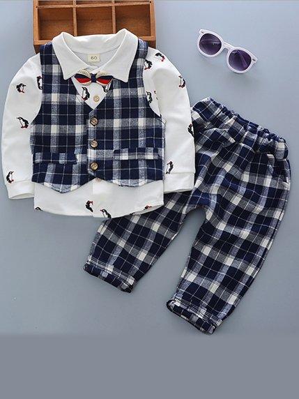 Комплект: сорочка, жилет і штани | 3769027