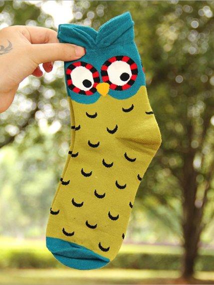 Шкарпетки зелені з малюнком підліткові   3769048