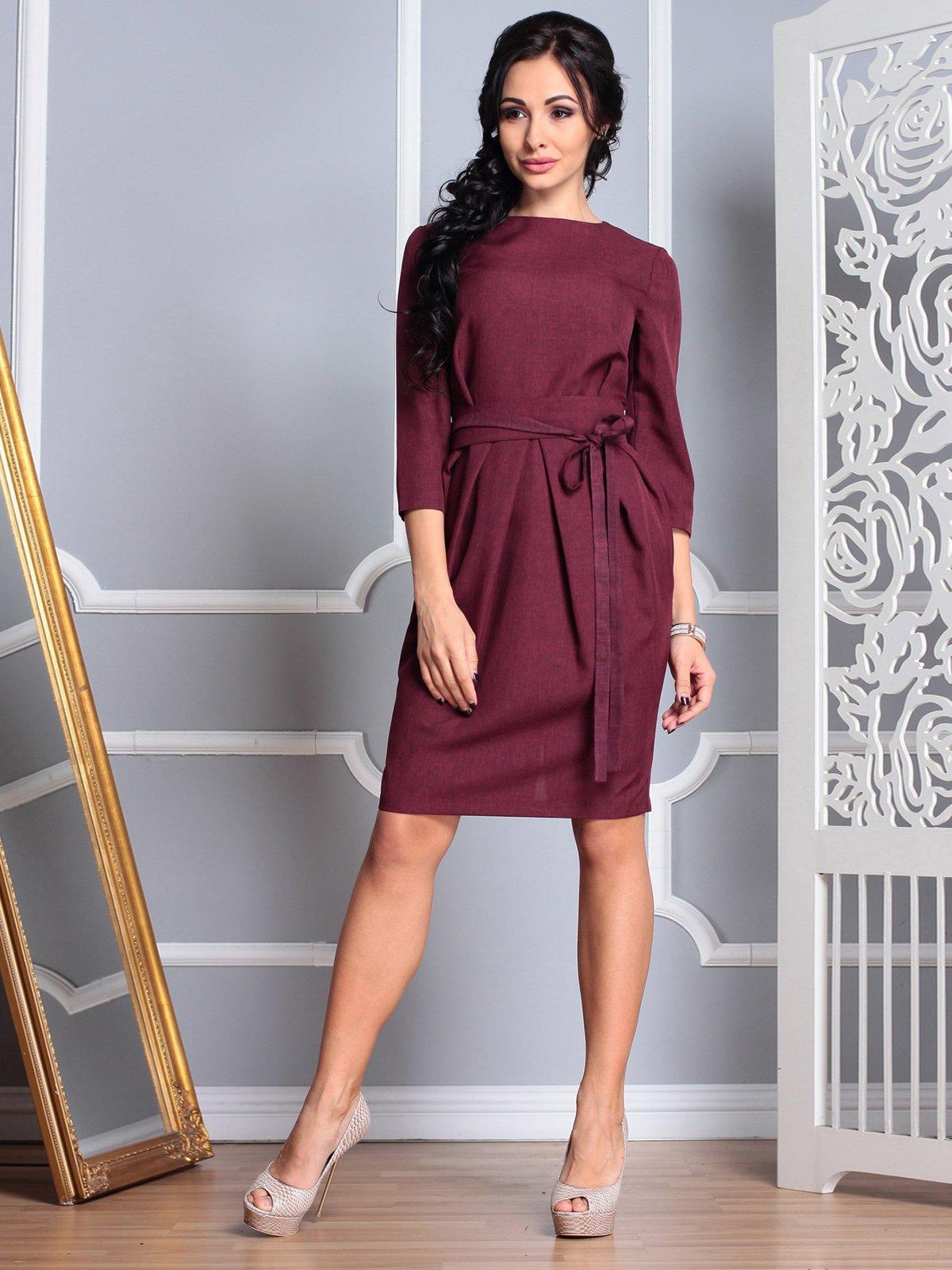Платье темно-сливовое   3767773