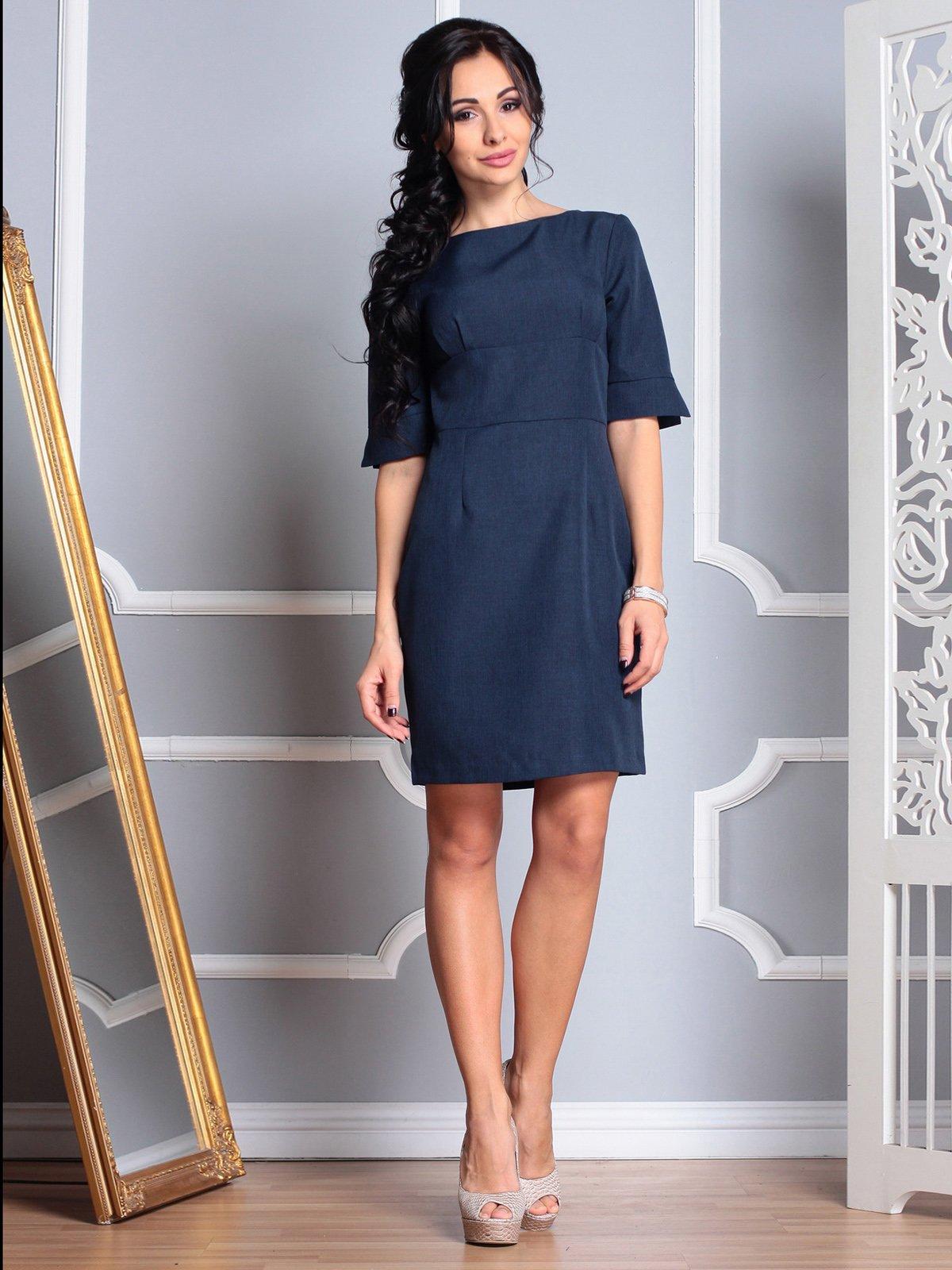 Сукня темно-синя | 3767780