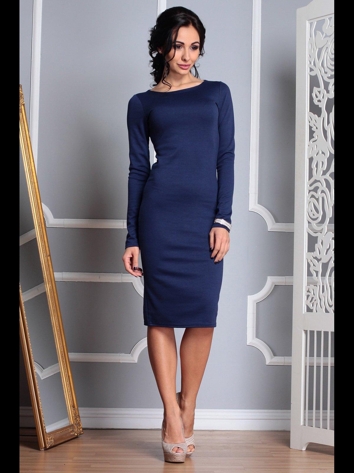 Платье темно-синее | 3767787