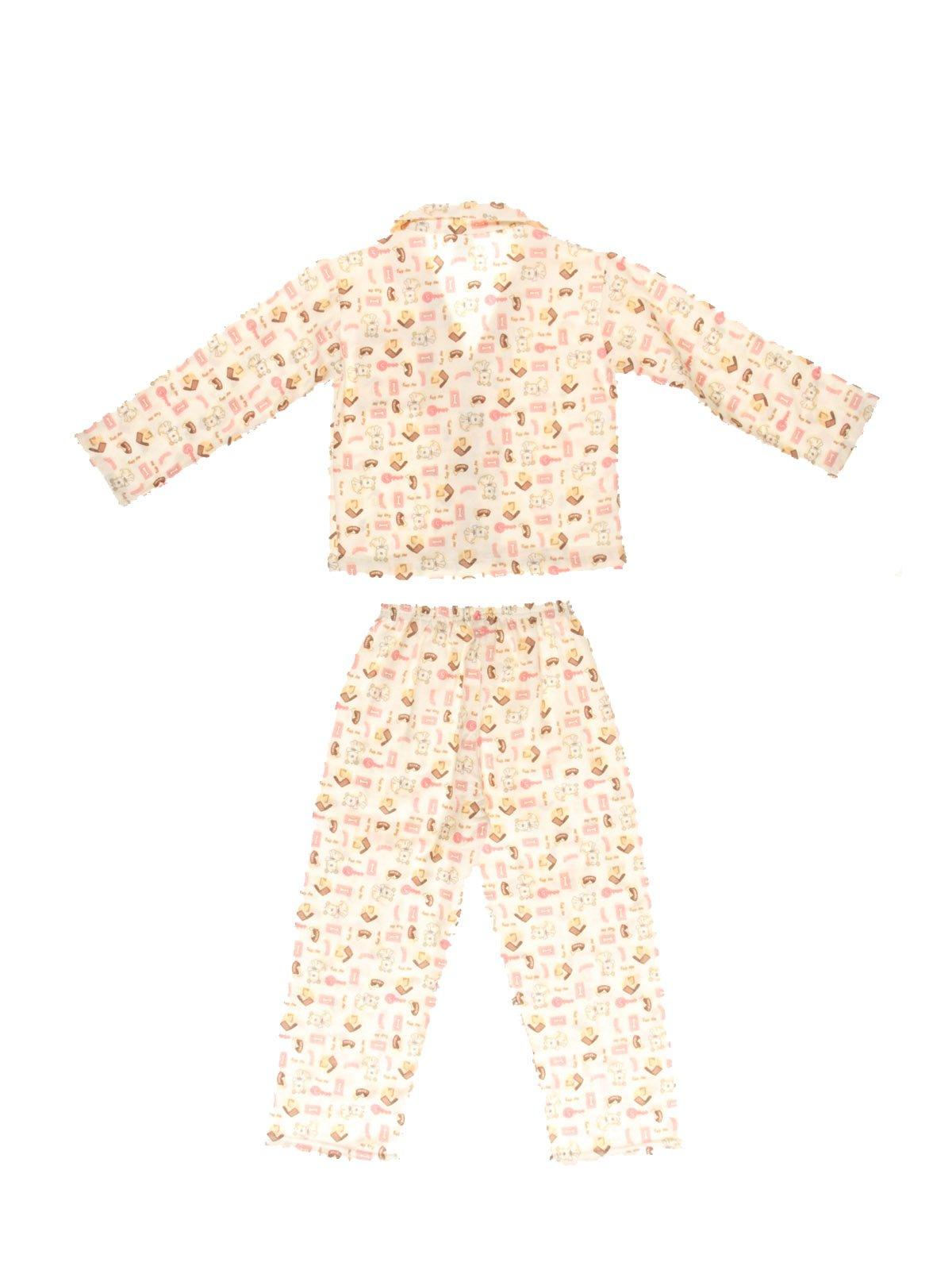 Піжама фланелева з начосом: кофта та штани | 3783111 | фото 2