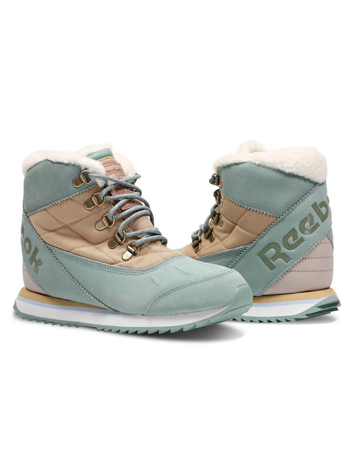 Ботинки бирюзово-бежевые | 3711690