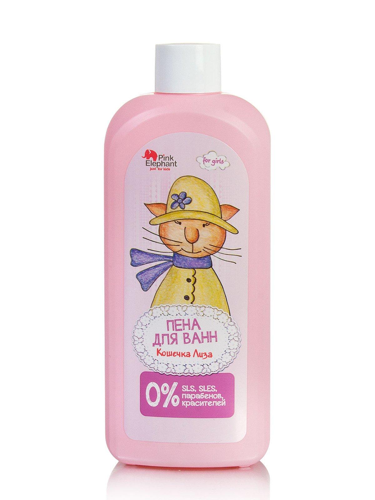 Піна для ванн «Кішечка Ліза» дитяча (500 мл) | 670116