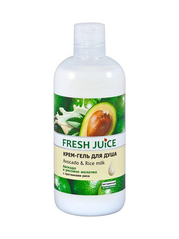 Крем-гель для душа Avocado & Rice milk (500 мл) | 1553930