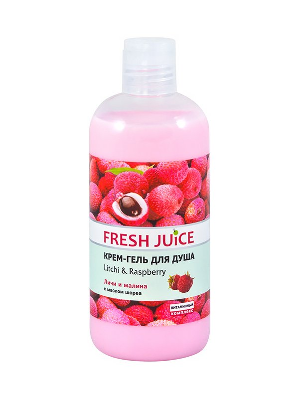 Крем-гель для душа Litchi & Raspberry (500 мл) | 1553931