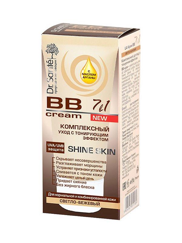 BB-крем Shine Skin светло-бежевый для нормальной и комбинированной кожи (50 мл)   1859076
