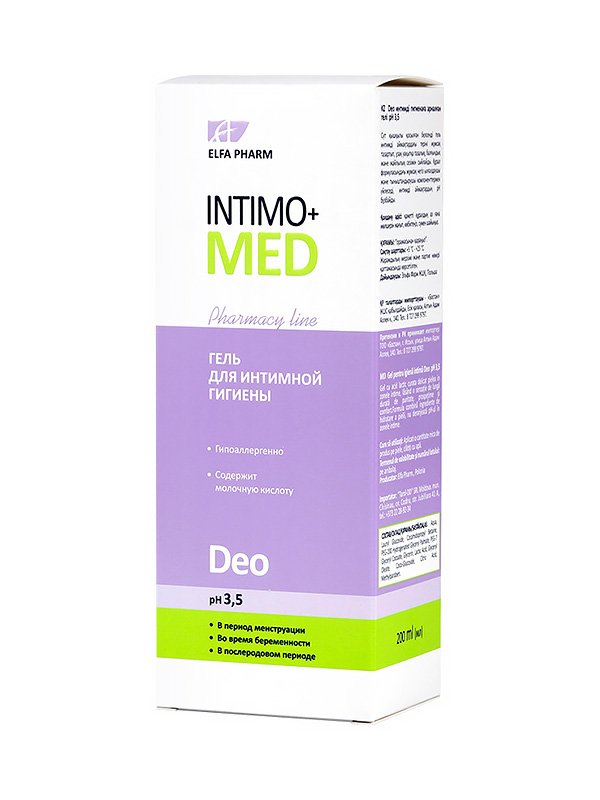 Гель для интимной гигиены Deo (200 мл) | 2745569
