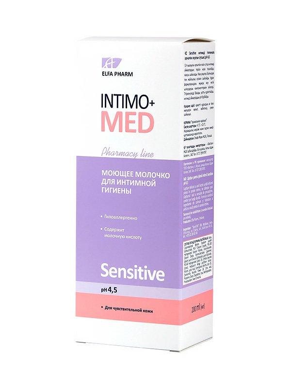 Молочко для интимной гигиены Sensitive (200 мл)   2745572