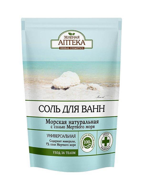 Соль для ванн «Морская натуральная» (500 г) — дой-пак   3746706