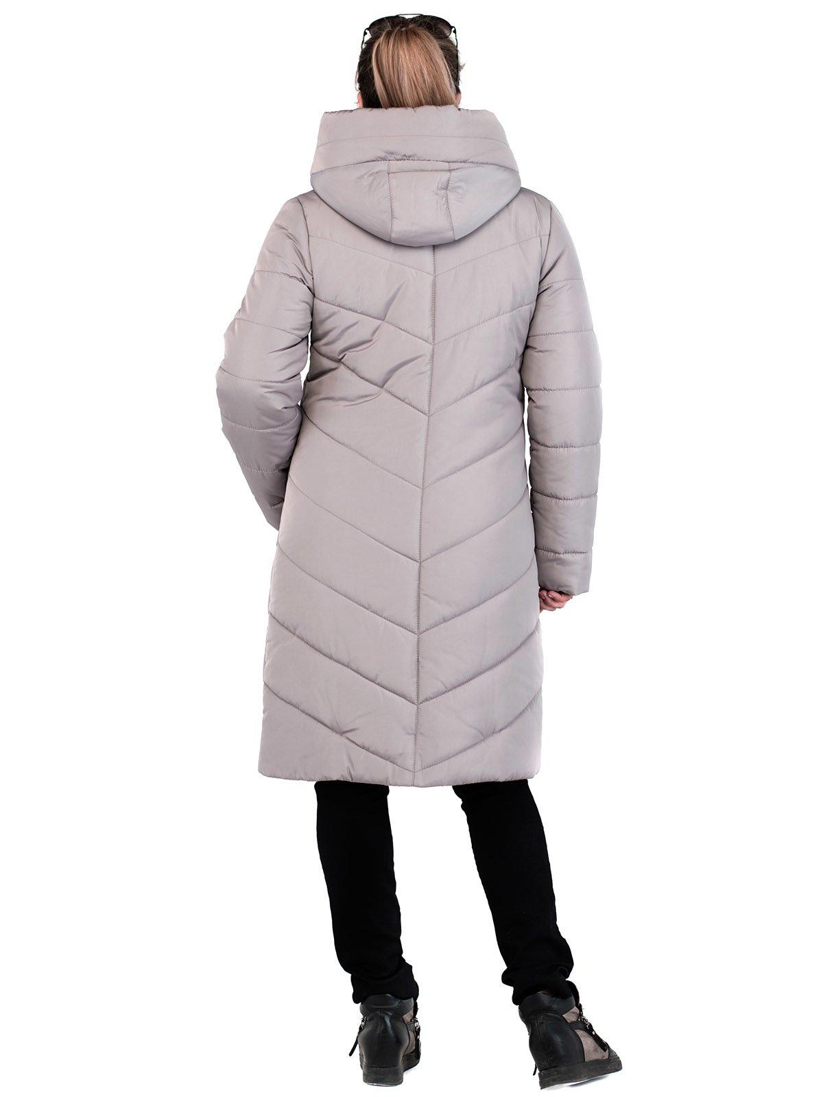 Пальто бежевое | 3750789 | фото 2