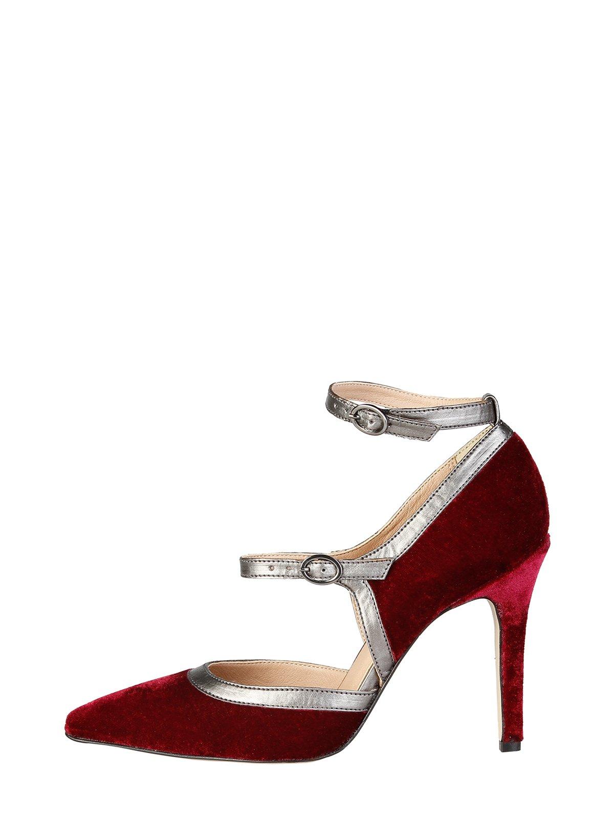 Туфлі бордові | 3774076