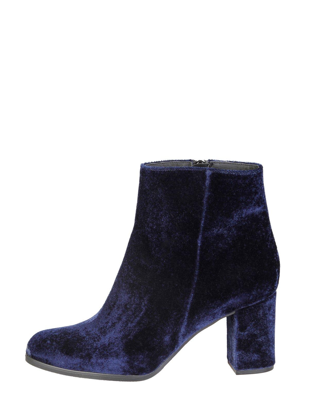Ботинки синие | 3774079