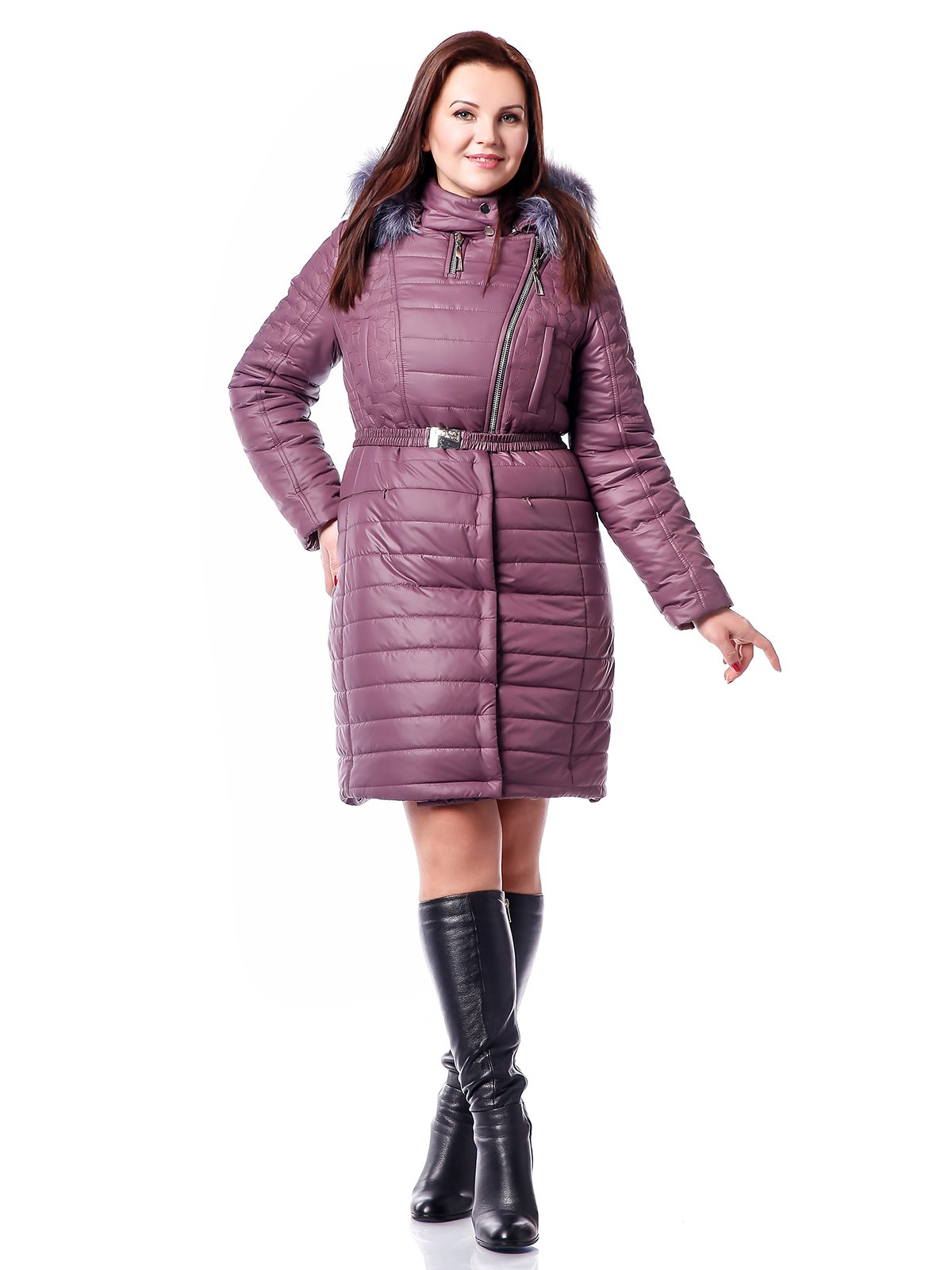 Пальто фрезового цвета   3774534
