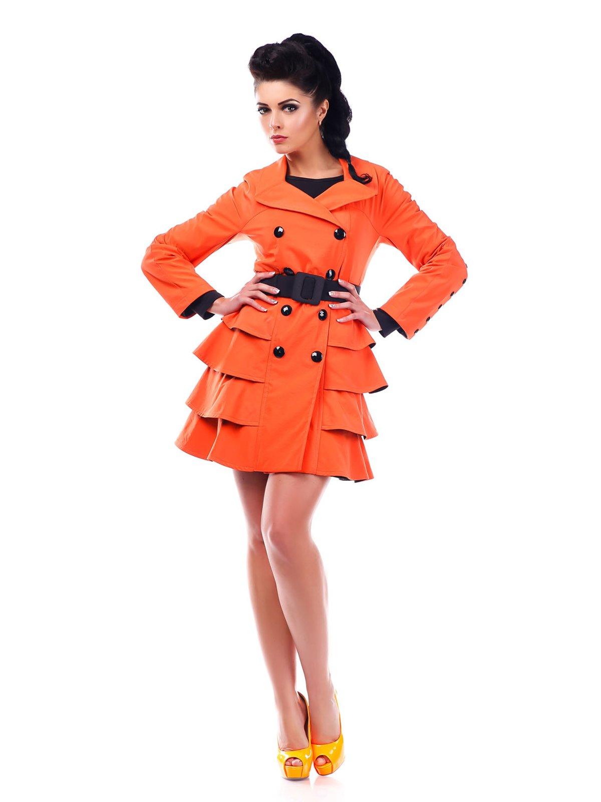 Плащ оранжевый | 3774541