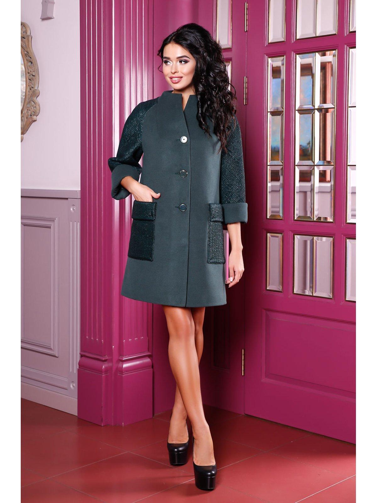 Пальто зеленое | 3774781