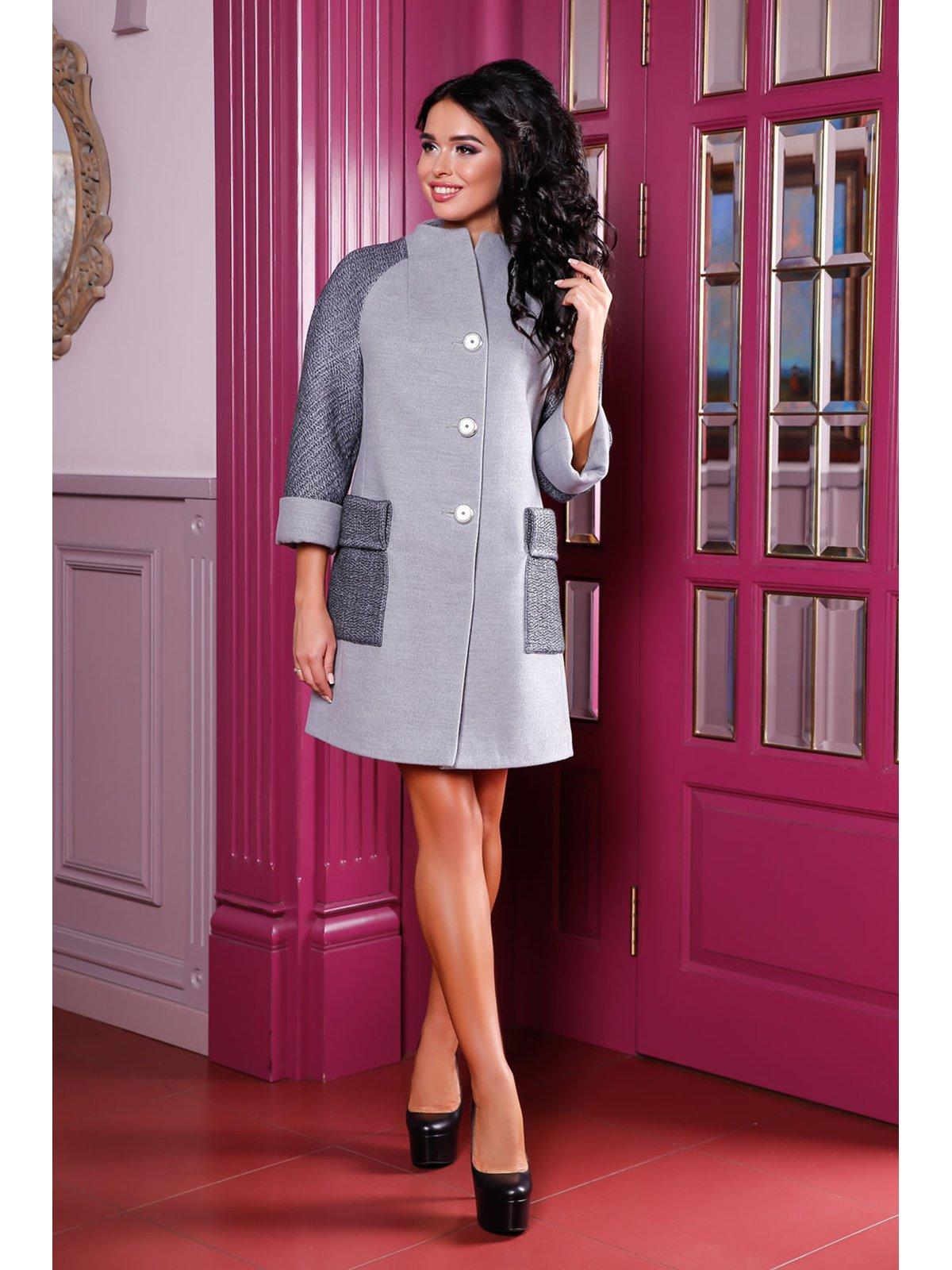 Пальто серое | 3774782