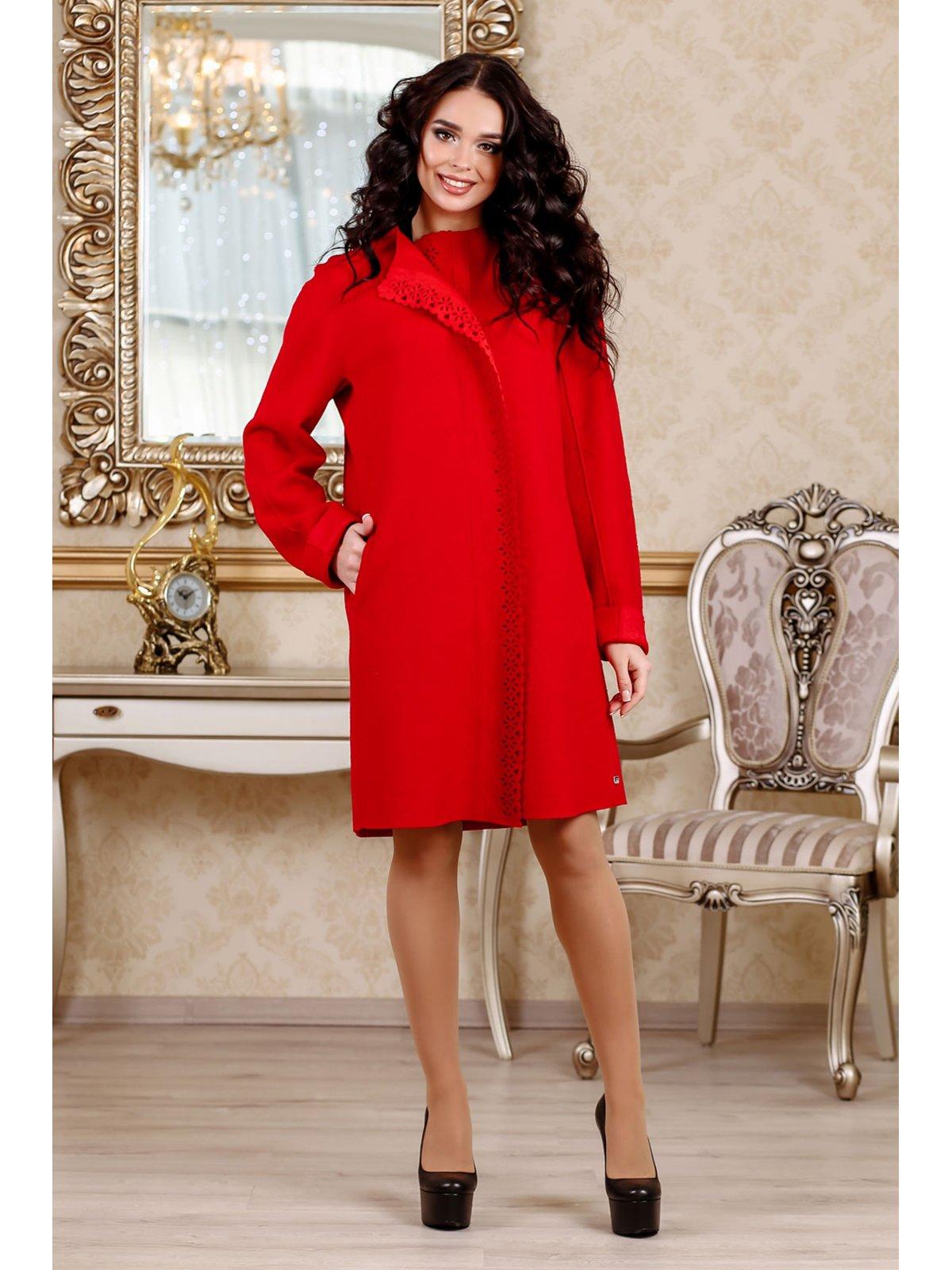 Пальто червоне | 3774786