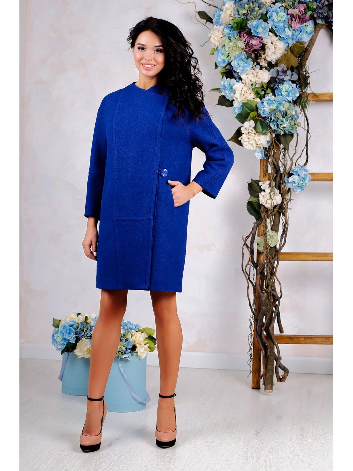 Пальто синє | 3774792