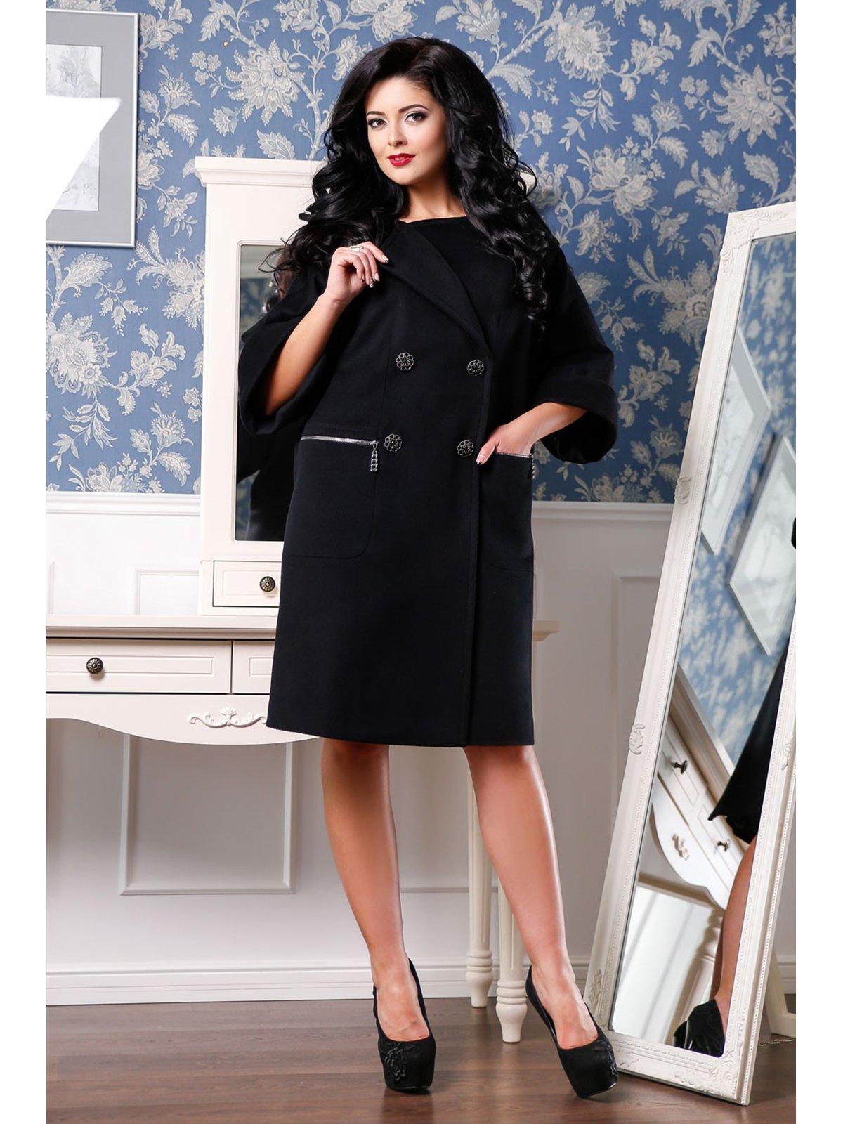 Пальто черное | 3774805 | фото 3