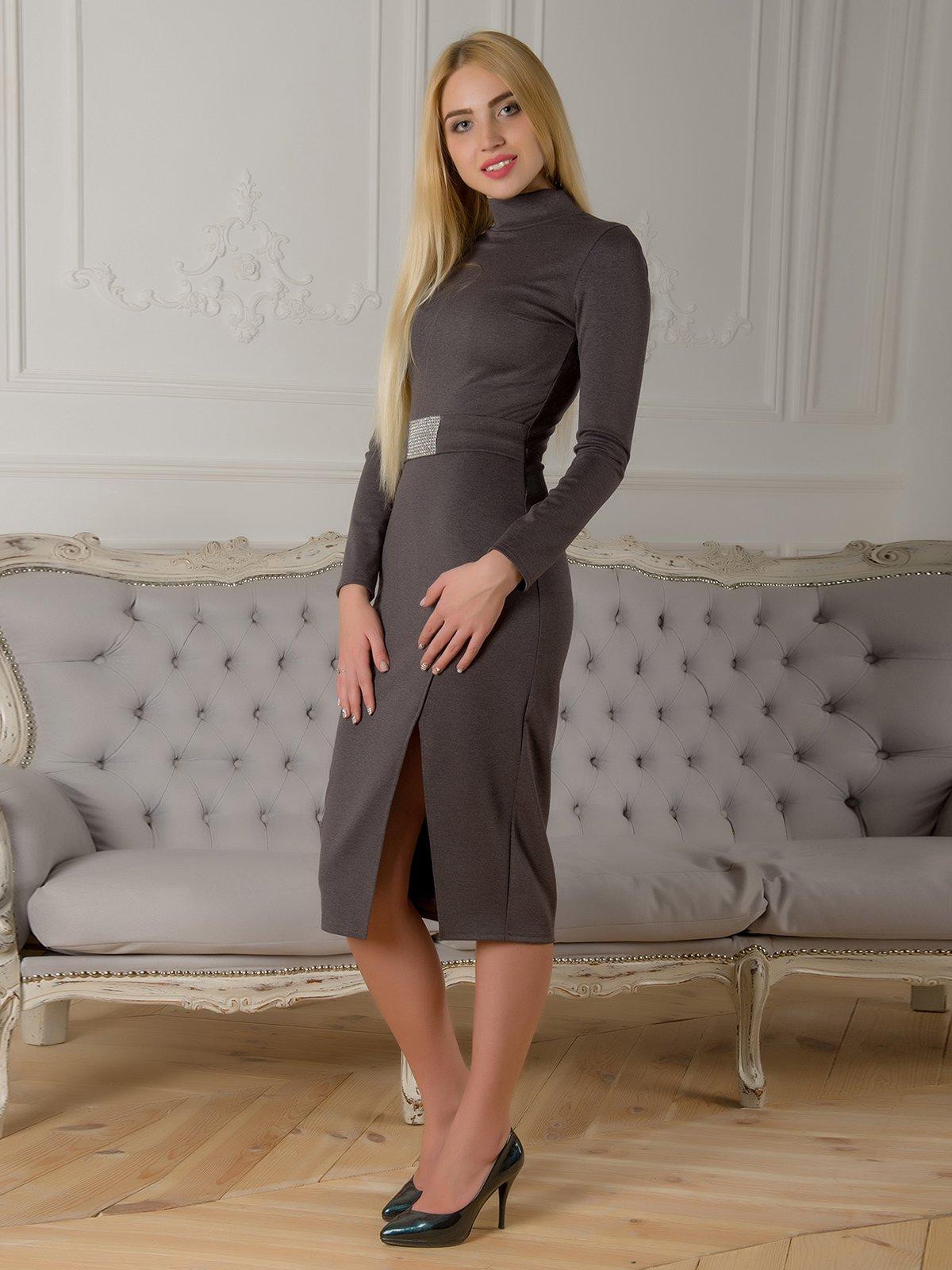 Сукня сіра | 3767236