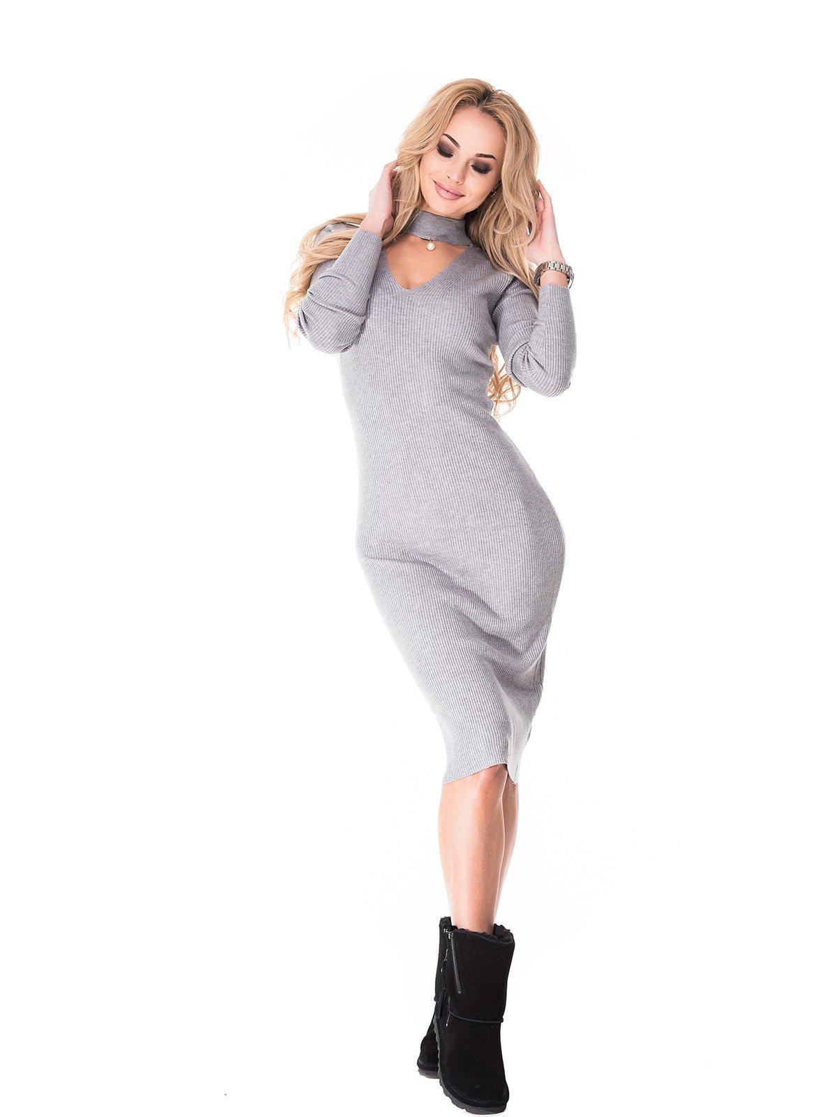 Сукня сіра | 3777860