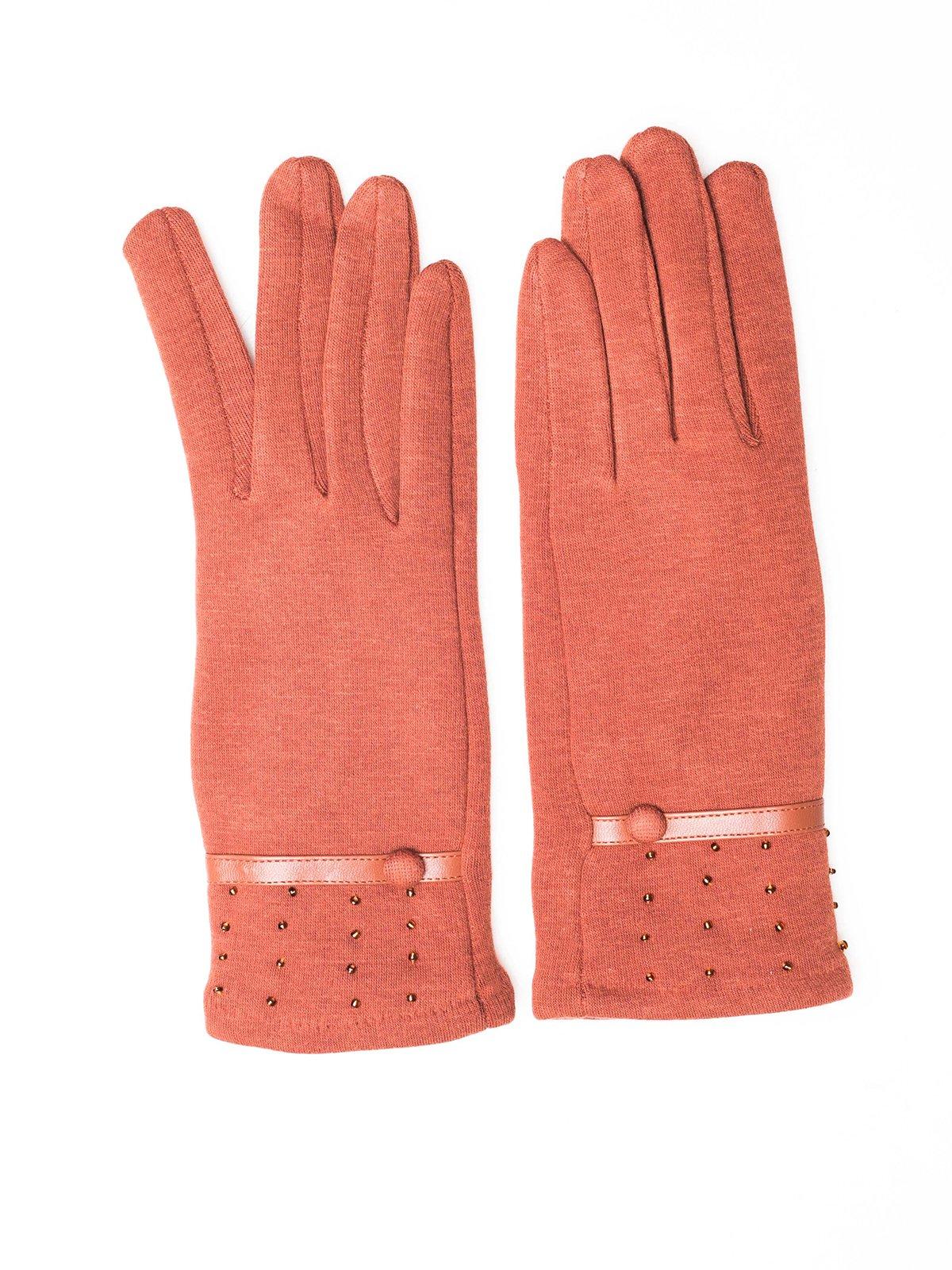 Перчатки коричневые | 3777895