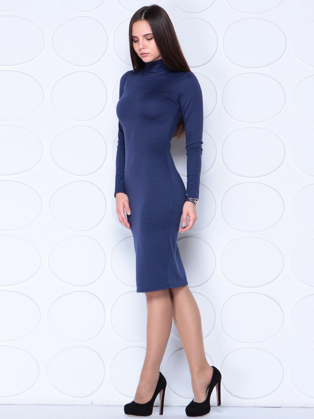 Платье темно-синее   3779769