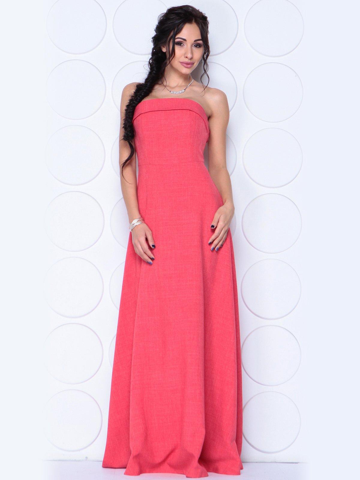 Платье цвета красный коралл | 3779791