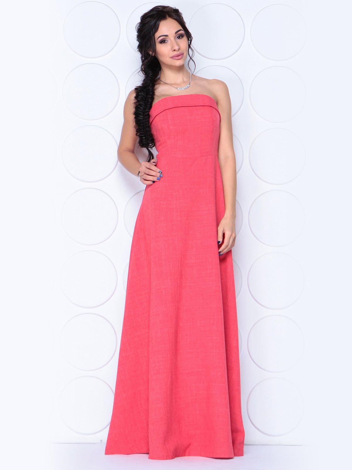 Платье цвета красный коралл | 3779791 | фото 3