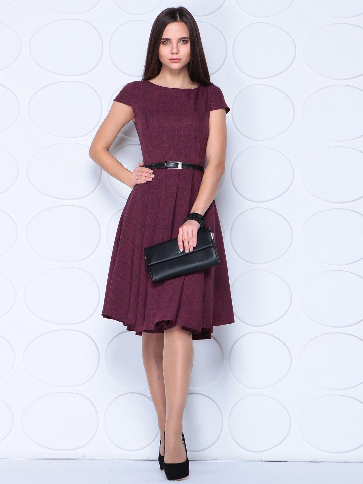 Платье сливовое | 3779793