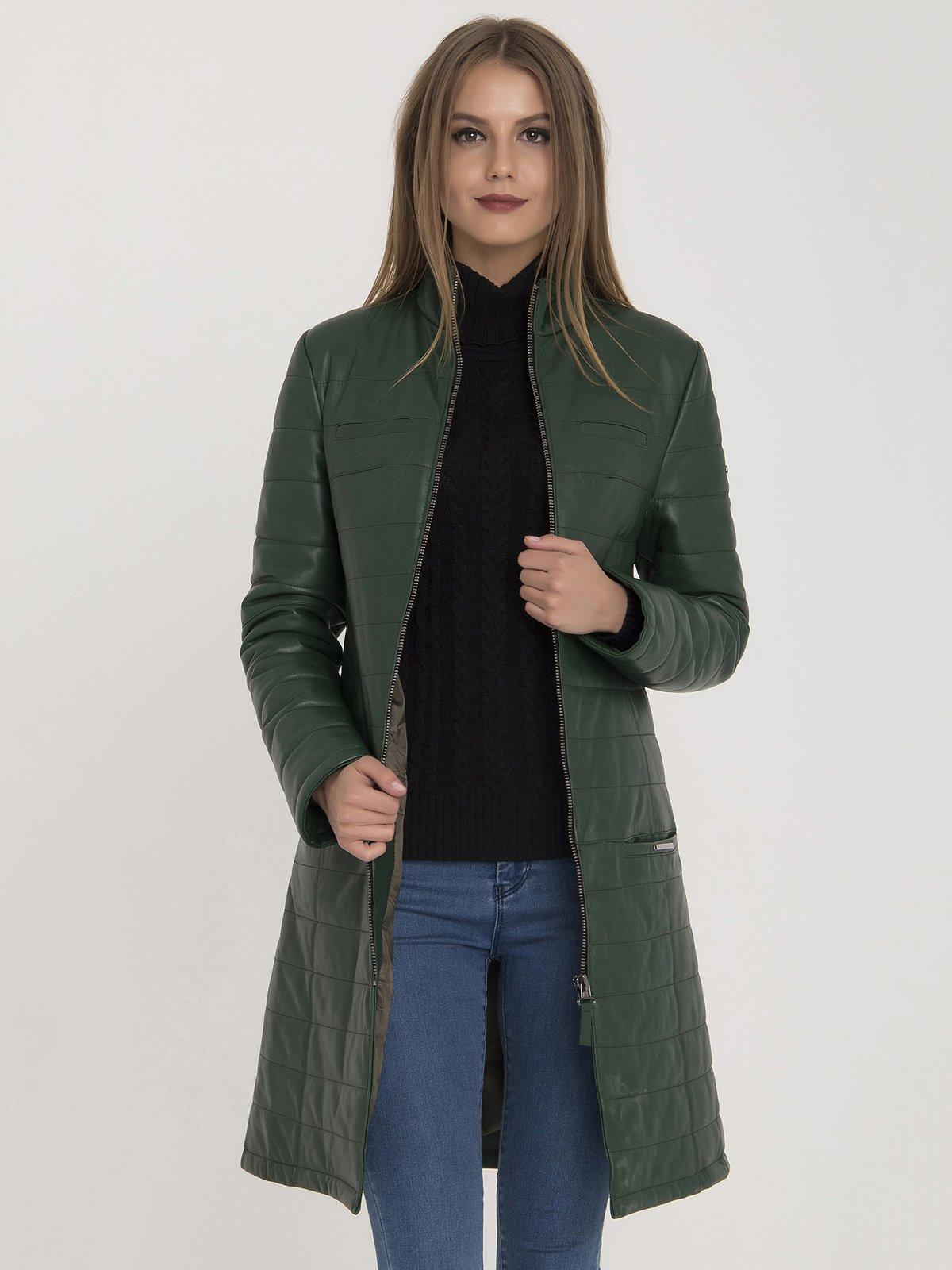 Куртка зеленая | 3780667 | фото 2