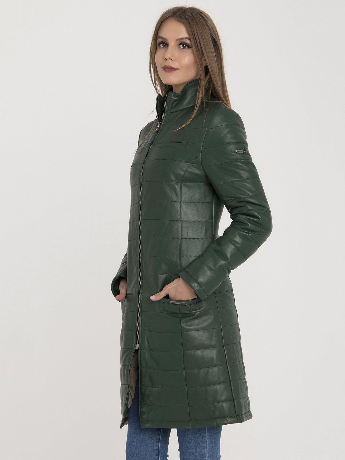 Куртка зеленая | 3780667 | фото 4