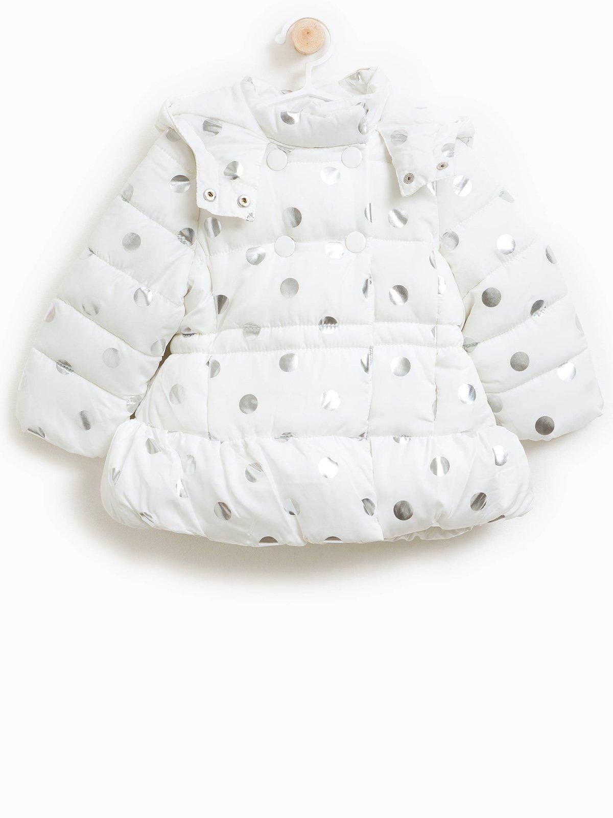 Куртка біла в принт   3723179