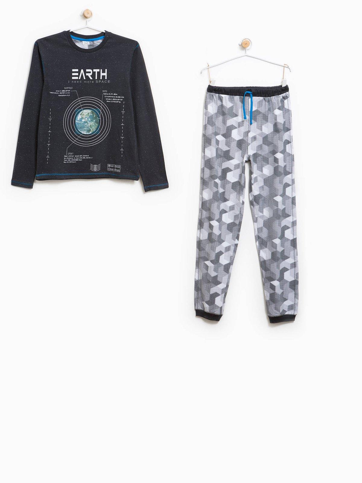 Піжама: джемпер і штани | 3785496