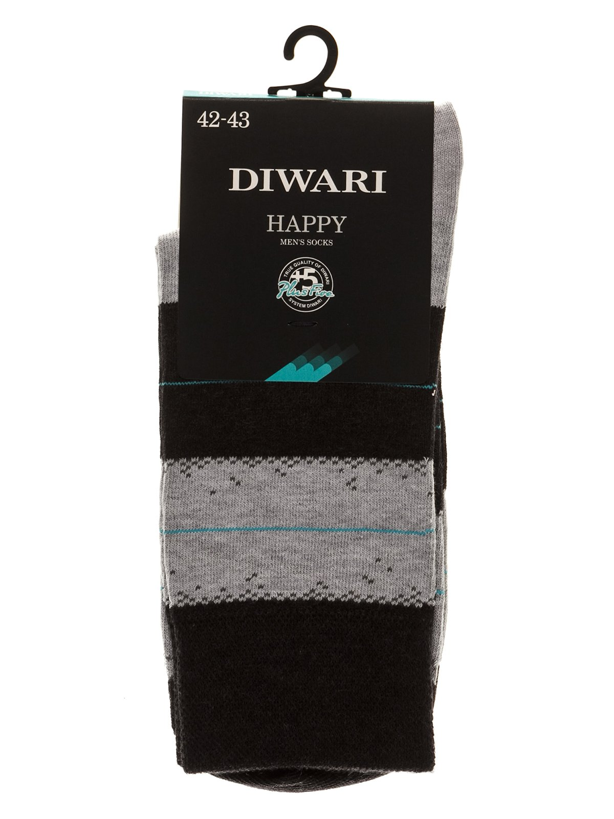 Шкарпетки чорно-сірі | 3749984