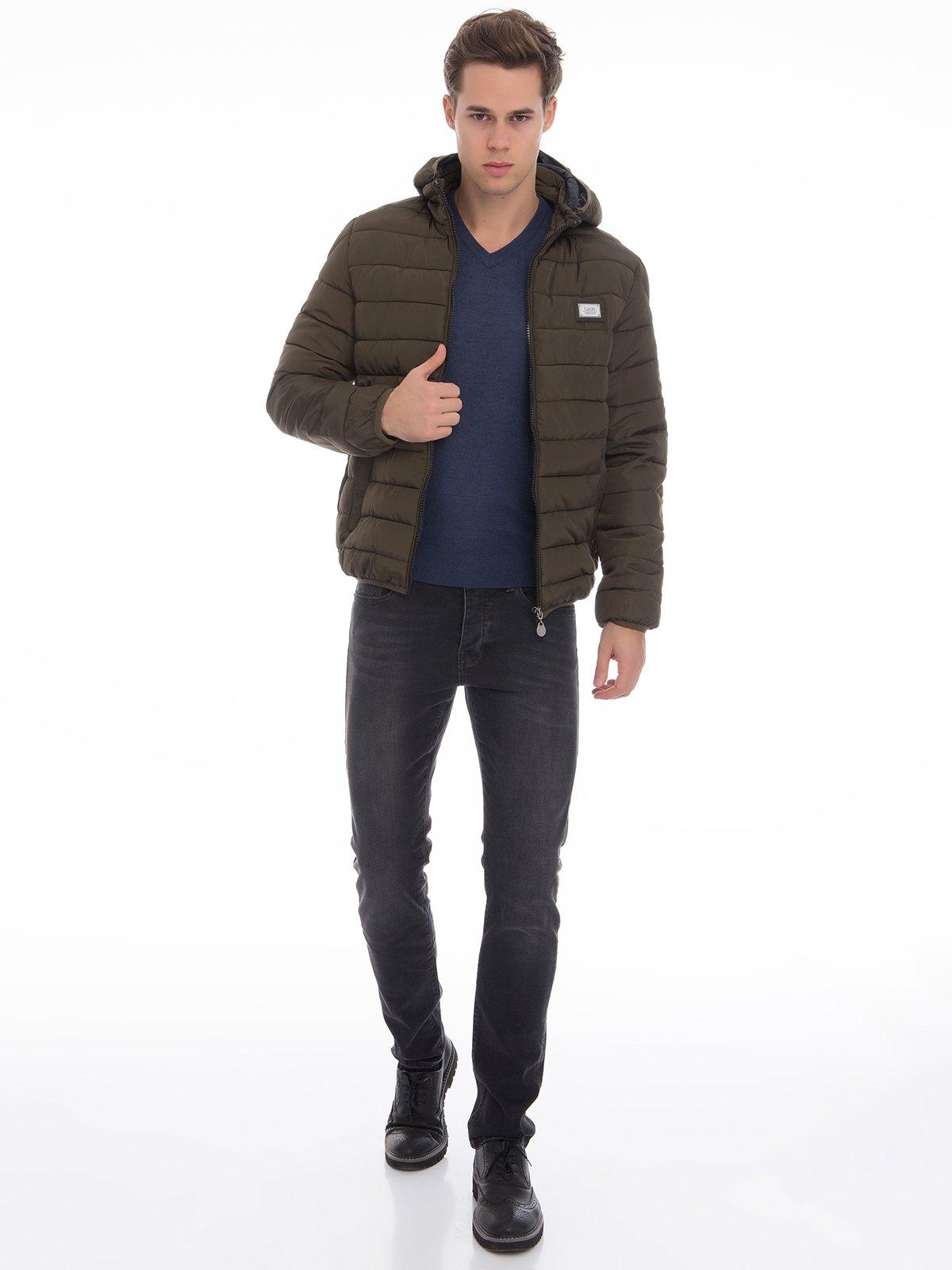 Куртка цвета хаки | 3790875