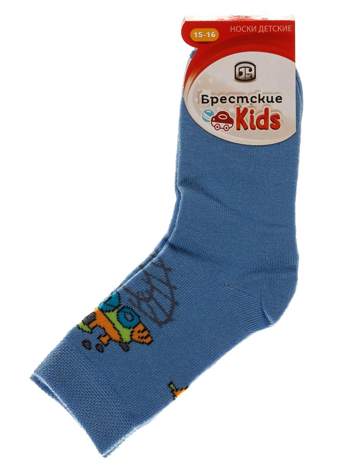 Носки голубые | 3750557