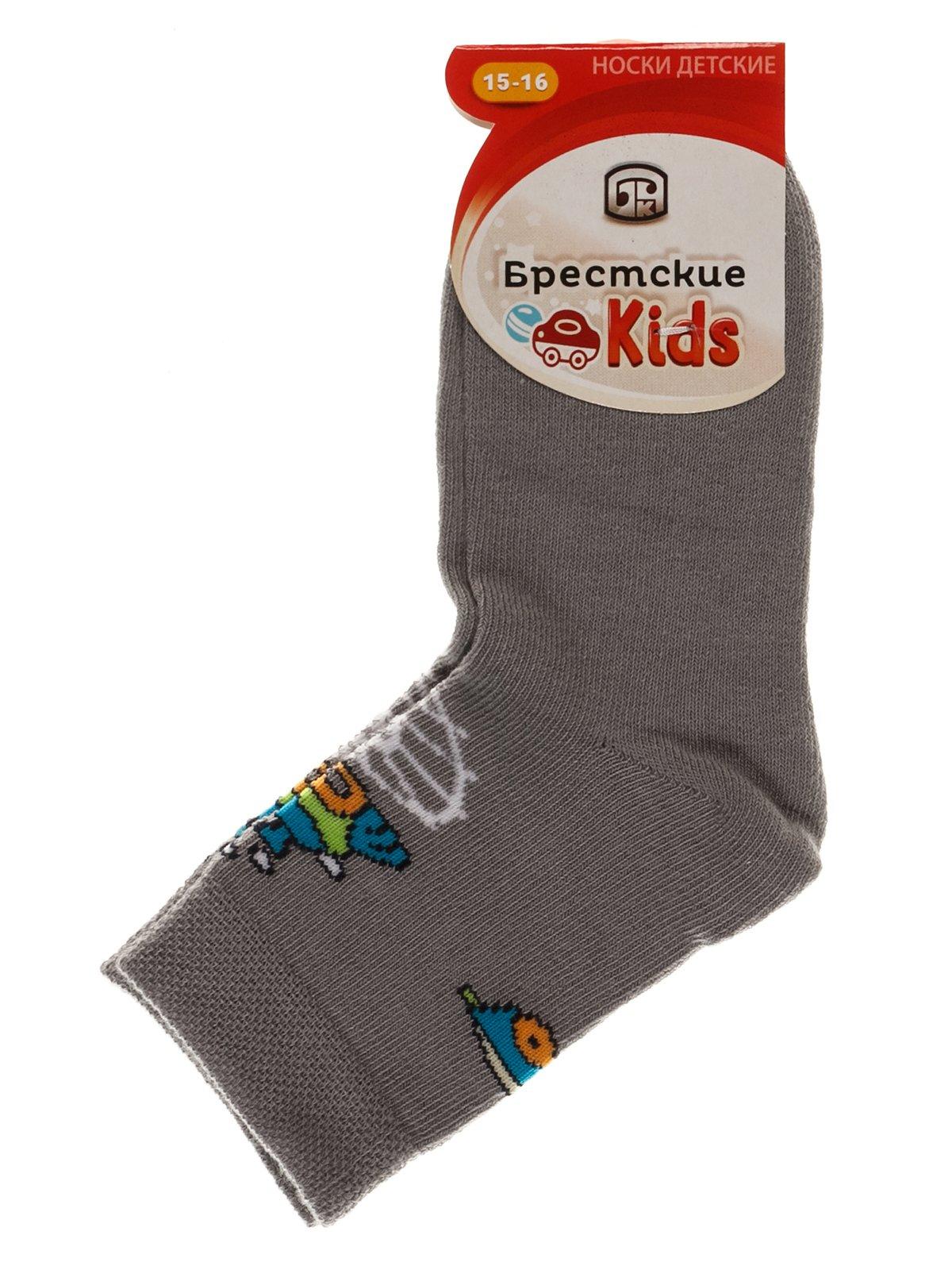 Шкарпетки сірі   3750558